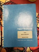 Original Tektronix Service Manual & operators manual for the 7904 Oscilloscope
