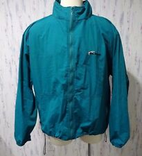 Coachmen 2xl zip up Teal windbreaker jacket camping camper Dalmation Ouray