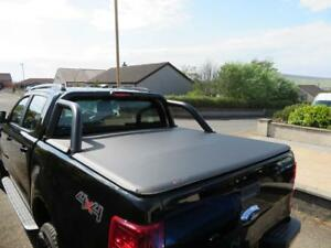 Fits Ford Ranger Black Edition Soft Roll Up Load Bed Tonneau Cover
