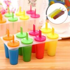 8 Freezer Ice Pop Lolly Maker Tray Cream Popsicle Yogurt Mold Maker Mould Hot