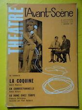 L'Avant-Scène Théâtre 254 1961 A. Roussin La Coquine A. Gillois Correctionnelle
