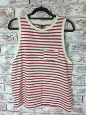 Top Shop Sleeveless Striped Top. Size 16UK. Ex Cond