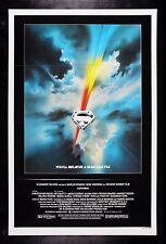 SUPERMAN * CineMasterpieces ORIGINAL MOVIE POSTER 1978 NM-M C9-C10 TRIFOLD