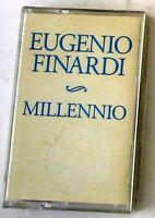EUGENIO FINARDI - MILLENNIO - Musicassetta Sigillata MC K7