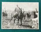 Antique Photo Russian Imperial Grand Duke Vladimir Romanov on Horse Regiment