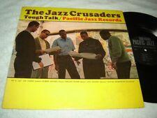 The Jazz Crusaders - Tough Talk LP 1963 Mono original Pacific Jazz PJ-68