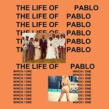 Kanye West - The Life Of Pablo *Mixtape CD*