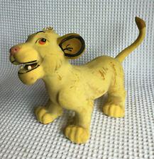 Vintage Rare Disney Friskies Simba Squeaky Toy  Baby  Lion King