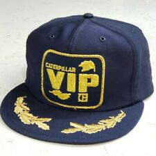Vintage CAT VIP Snapback Trucker Hat Patch Cap Made in the USA