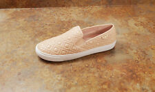New! Tory Burch 'Jesse' Quilted Leather Slip On Sneakers Pink 8.5 M MSRP $165