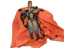 Vintage Action Man Paratrooper With Orange Parachute Estimate Age 35 + Years