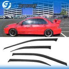 Fits 03-06 Mitsubishi Lancer Slim Style Acrylic Window Visors 4Pc Set