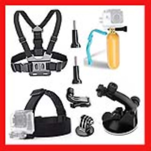 TEKCAM Action Camera Accessories Kits for AKASO EK7000 Brave 4/ Victure/YI 4K