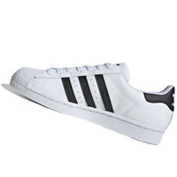 ADIDAS MENS Shoes Superstar - Cloud White, Core Black & Cloud White - OW-EG4958