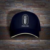 Finland Finnish Police Poliisi Embro Cap Hat