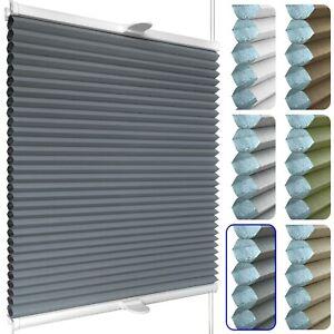 Waben-Plissee nach Maß für Fenster mit Klemmhaltern | Klemmfix ohne Bohren