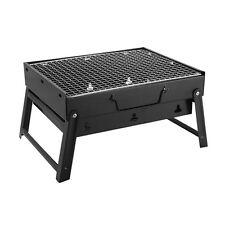 40% Off Outdoor Portable Folding Black Cold Rolled Steel Barbecue Grill Pit