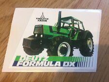 Deutz Fahr Tractor DX tractors DX90 DX110 DX120