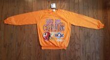 Nwt. Vintage 1992 Washington Redskins Super Bowl Champions orange sweatshirt.