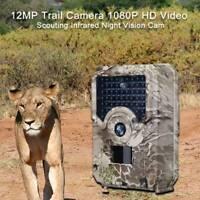 1080P Wild Hunter Hunting Camera 12MP Photo Trap Night Vision Trail Camera Use