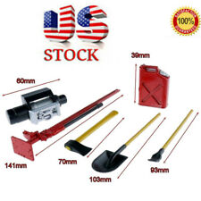 1/10 Scale Rc Rock Crawler Accessory Tool Set For D90 Scx10 Wraith Model Red