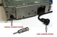CAR AERIAL ANTENNA ADAPTOR ADAPTER CAR RADIO STEREO - ISO to DIN PIONEER KENWOOD