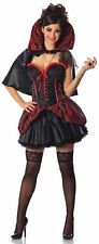 Haunted Mistress Sexy Vampire Costume Gothic Vampiress Adult Size Large