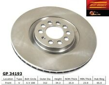 Disc Brake Rotor-Turbo Front Best Brake GP34193