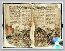 La sconfitta di Monte Aperto 1442 -The Defeat of Montaperti- JPEG & PDF files