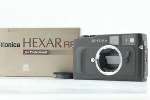 """"""" Mint en Boîte """" Konica Hexar RF Noir 35mm Télémètre Caméra à Film De Japon"""