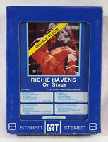 Richie Havens - On Stage (1972 Stormy Forest Stereo 8-Track Tape Cartridge) Live