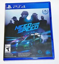 Replacement Case (NO GAME) Need for Speed Playstation 4 PS4 Box
