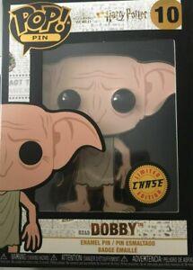 Funko Harry Potter POP #10 Pin | Dobby | Chase Edition | Enamel Pin