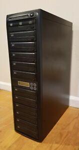BestDuplicator CD/DVD Duplicator with Built-in Burner (1 to 11)
