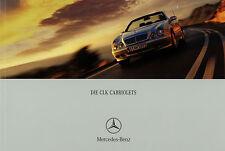 1155MB Mercedes CLK Coupe Prospekt 2000 5/00 brochure 55 AMG 430 320 230 200 K