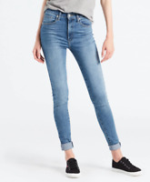 Levi's Premium Blue Mile High Super Skinny Fit Jeans W24 L32 / W25 L32