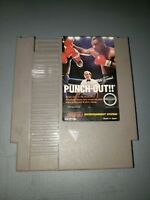 Mike Tysons Punch Out!!- Nintendo NES Authentic cleaned, working