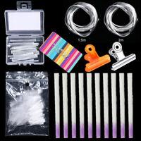 Fibernails Fiberglass Nail Extension Form Acrylic Tips  Fiber Salon Tool