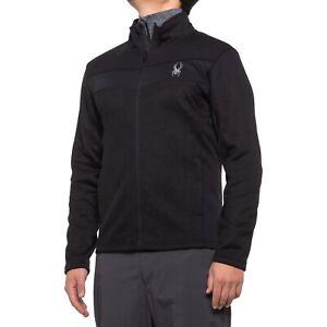 Spyder Racer Sweater Fleece  Jacket, Men's Size M, NWT