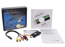 USB Audio Video Capture Card Game Grabber,Convert VHS VCR TV to Digital DVD Vide