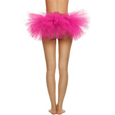 Elastic Stretchy Tulle Dress Adult Tutu 5 Layer Skirts Ballet Rave Party SkirtCA