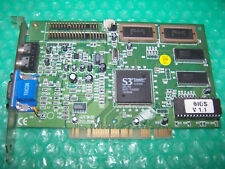 Vintage S3 Trio64V+ PCI Graphics Card, Working