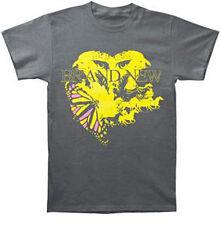 Brand New Owl Eyes Butterfly Horses  Music punk rock t-shirt  MEDIUM NEW