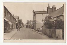 Whitchurch Lane Edgware Vintage Postcard P Chanell London Middlesex 825b