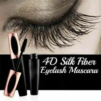Silk Fiber Eyelash Mascara Extension Makeup Black Waterproof Kit Eye Lashes R2H6