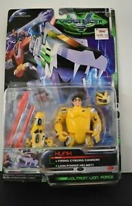 Voltron Third Dimension Hunk Lion Force 09628 Sealed Trend Masters 1998