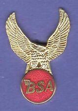 BSA MOTORCYCLE HAT PIN LAPEL PIN TIE TAC ENAMEL BADGE #2036