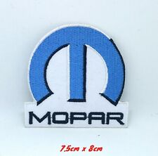 Mopar parts Accessories Automobile Embroidered Iron on Sew on Patch #1389