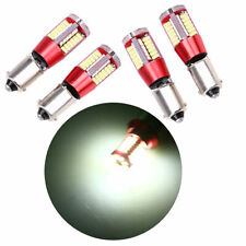 4x BA9S 3014 57 SMD LED Car Auto SUV Interior Dome Map Light Bulb White Lamp 12V