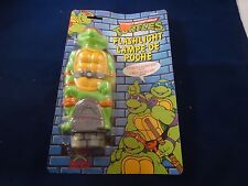 Teenage Mutant Ninja Turtles Michelangelo Flash Light Kids Flashlight Retro TMNT